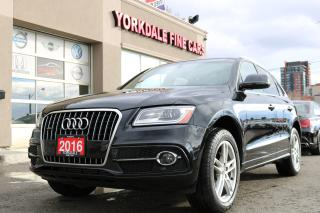 Used 2016 Audi Q5 2.0T Quattro S Line  Navigation  Panoramic  C for sale in North York, ON