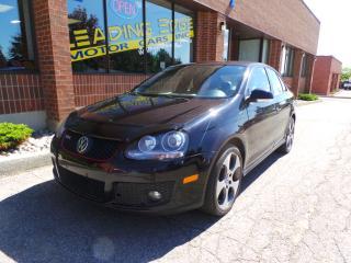 Used 2007 Volkswagen Jetta GLI GLI Leather, Sunroof, Heated Seats for sale in Woodbridge, ON