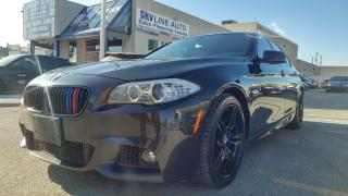 Used 2011 BMW 550i i 6-SPD MANUAL|TWIN TURBO|M PACKAGE|NAVIGATION for sale in Concord, ON