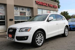 Used 2012 Audi Q5 3.2L Quattro . Navigation. Panoramic Roof for sale in North York, ON