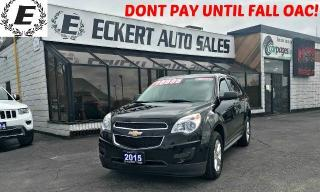 Used 2015 Chevrolet Equinox LS WITH SUMMER AND WINTER TIRES for sale in Barrie, ON