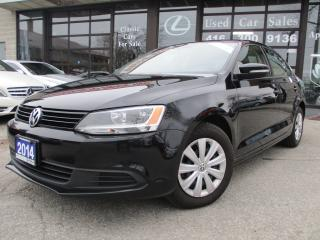 Used 2014 Volkswagen Jetta 2.0L Trendline-heated seats-all power option-A/C for sale in Scarborough, ON