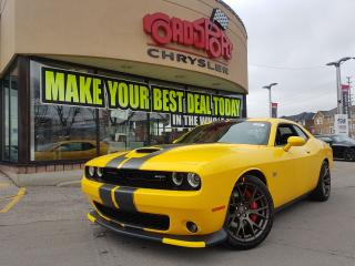 Used 2018 Dodge Challenger SRT 392 P-ROOF NAVI APLE CARPLAY BRNZE WHLS 6 SPED for sale in Scarborough, ON