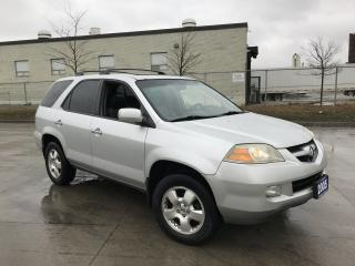 Used 2005 Acura MDX AWD, 7 pass, Leather roof , 3/Ywarranty availab for sale in North York, ON