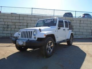 Used 2017 Jeep Wrangler Sahara for sale in Fredericton, NB