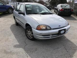 Used 1999 Geo Metro LS for sale in Surrey, BC