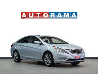 Used 2013 Hyundai Sonata LIMITED LEATEHR SUNROOF ALLOY WHEELS BLUETOOTH for sale in North York, ON
