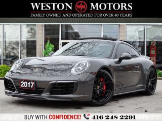 Used 2017 Porsche 911 CARRERA 4S*PDK*RARE COLOUR PKG*PORSCHE SERVICED!* for sale in Toronto, ON