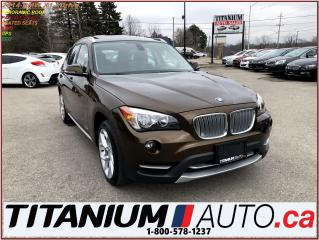 Used 2014 BMW X1 xDrive+GPS+Park Sensors+Pano Roof+AWD+Heated Wheel for sale in London, ON