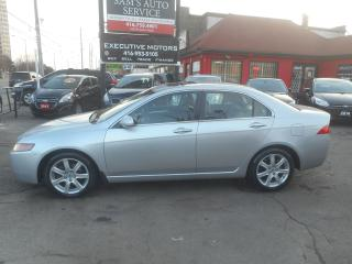 Used 2005 Acura TSX 6spd for sale in Scarborough, ON