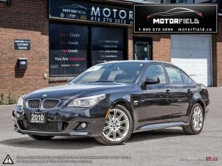 Used 2010 BMW 5 Series 535i xDrive M Pkg *NO ACCIDENTS, NAVI, LOADED* for sale in Scarborough, ON