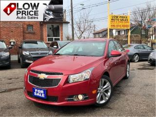 Used 2013 Chevrolet Cruze LT Turbo**Leather*Alloys*RSPkg&Warranty* for sale in York, ON