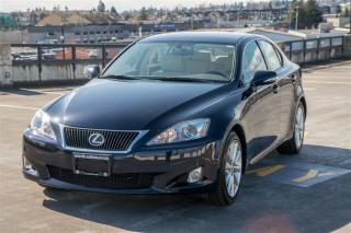 Used 2009 Lexus IS 350 Clean Low KM, Leather, Sunroof! for sale in Langley, BC