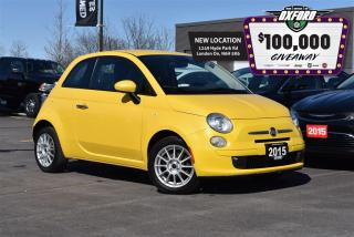 Used 2015 Fiat 500 Pop - 1.4L, FWD, keyless, air for sale in London, ON