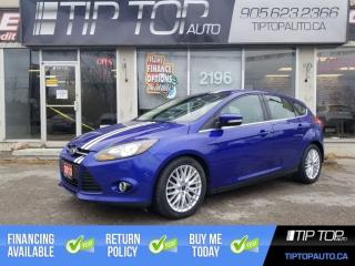 Used 2013 Ford Focus Titanium ** Navigation, Full Leather Interior, Rem for sale in Bowmanville, ON
