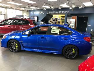 New 2018 Subaru WRX STI SPORT-TECH W LIP for sale in Vernon, BC