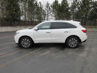 Used 2016 Acura MDX  AWD for sale in Cayuga, ON