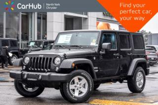 New 2018 Jeep Wrangler JK Unlimited New Car Sport 4x4|LED.PowerConvi.Pkgs|Hardtop|AC|17