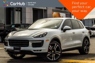 Used 2016 Porsche Cayenne Turbo AWD|Carbon Int.,Premium+.Pkgs|Pano_Sunroof|BOSE for sale in Thornhill, ON