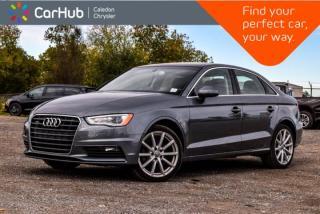 Used 2015 Audi A3 2.0T Progressiv|Quattro|Sunroof|Bluetooth|Heated Front Seats|Leather|18