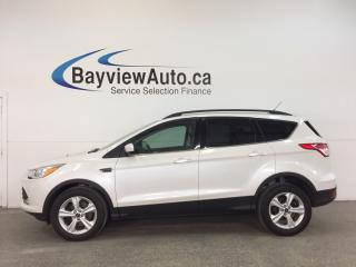 Used 2014 Ford Escape SE- 4WD|ECOBOOST|HITCH|PANOROOF|HTD LTHR|NAV|SYNC! for sale in Belleville, ON