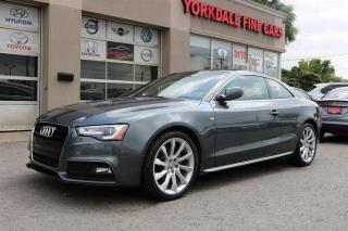 Used 2014 Audi A5 2.0T Quattro  S Line. Navigation. Panoramic for sale in North York, ON