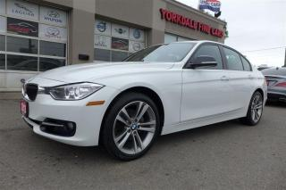 Used 2013 BMW 328 i xDrive Navigation.  Rare WHITE ON RED  Sport pkg  Navi for sale in North York, ON
