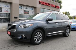 Used 2013 Infiniti JX35 DVD. Navigation. Reverse Camera for sale in North York, ON
