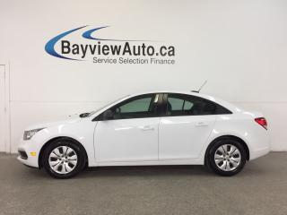 Used 2016 Chevrolet Cruze LT- 1.8L|KEYLESS ENTRY|ON STAR|PWR GROUP! - 1.8L! KEYLESS ENTRY! ON STAR! PWR GROUP! for sale in Belleville, ON