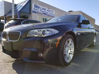Used 2013 BMW 528 i xDrive M PACKAGE|NAVI|CAMERA|LANE ASSIST|BLIND SPOT for sale in Concord, ON