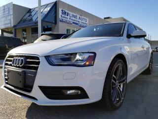 Used 2014 Audi A4 2.0 Progressiv NAVI|CAMERA|LEATHER|SUNROOF|ALLOYS for sale in Concord, ON