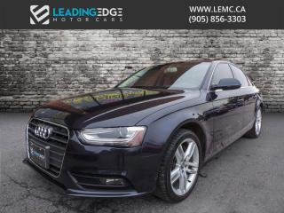 Used 2013 Audi A4 2.0T Premium Navigation for sale in Woodbridge, ON