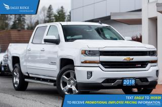 New 2018 Chevrolet Silverado 1500 Backup Camera, Bumper Step, Power Driver's Seat for sale in Coquitlam, BC