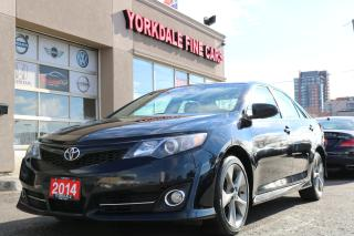 Used 2014 Toyota Camry SE 2.5L. Navigation. Camera. Clean for sale in North York, ON