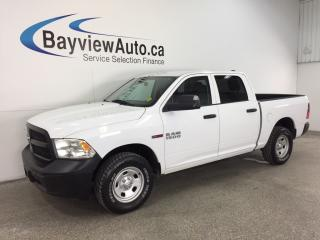Used 2016 RAM 1500 TRADESMAN- ECODIESEL|CREW|HITCH|A/C|BLUETOOTH! for sale in Belleville, ON