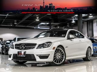 Used 2013 Mercedes-Benz C63 AMG AMG|NAVI|BLINDSPOT|REAR CAM|PANO|PUSH START for sale in North York, ON