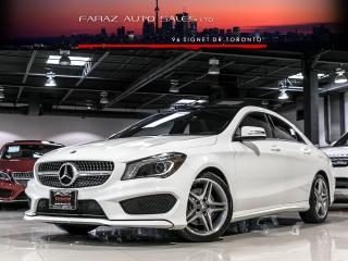 Used 2014 Mercedes-Benz CLA250 AMG|NAVI|BLINDSPOT|REAR CAM|PANO|4MATIC|FULLY LOADED for sale in North York, ON