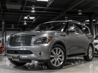 Used 2014 Infiniti QX80 8PASS|TV/DVD|BLINDSPOT|LDW|TECH|LOADED for sale in North York, ON