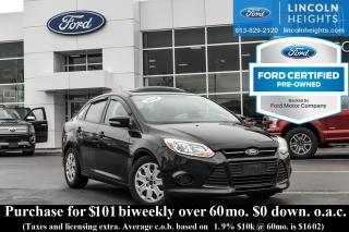 Used 2014 Ford Focus SE SEDAN - BLUETOOTH - HEATED SEATS - POWER MOONROOF for sale in Ottawa, ON