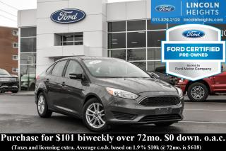 Used 2015 Ford Focus SE SEDAN for sale in Ottawa, ON