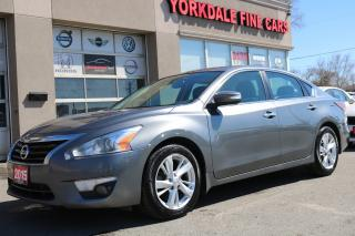 Used 2015 Nissan Altima 2.5 SL Leather. Roof. Navigation. Camera. Clean for sale in North York, ON