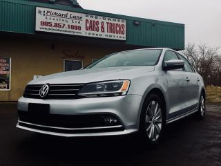 Used 2015 Volkswagen Jetta 2.0 TDI Trendline+ TDI DIESEL!! REVERSE CAMERA!! HEATED SEATS AND MORE!! for sale in Bolton, ON