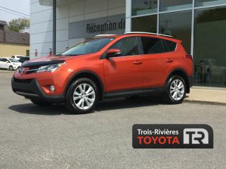 Used 2015 Toyota RAV4 LIMITED - AWD - CUIR - GPS for sale in Trois-rivieres, QC