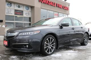Used 2015 Acura TLX V6 Elite Navi. Camera. Blind Spot. Adaptive Cruise for sale in North York, ON