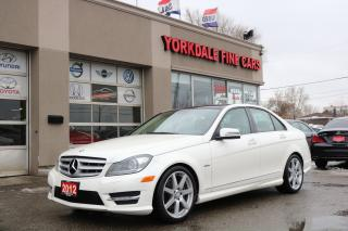 Used 2012 Mercedes-Benz C-Class C350. 4Matic. Panoramic. Navigation. Camera for sale in North York, ON