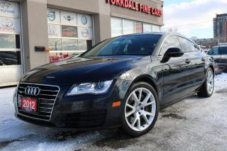 Used 2012 Audi A7 Premium Plus Navigation, Camera, Roof, No Accidents for sale in North York, ON