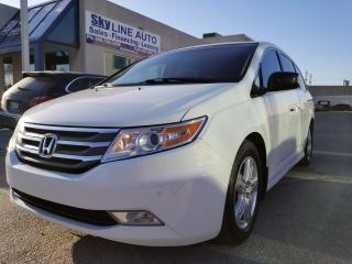 Used 2011 Honda Odyssey Touring NAVI|CAMERA|LEATHER|SUNROOF|ALLOYS for sale in Concord, ON