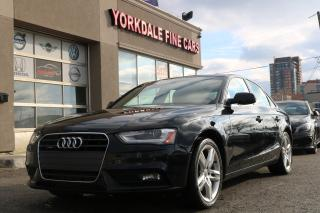 Used 2013 Audi A4 2.0L Quattro Navigation, Camera, No Accidents for sale in North York, ON
