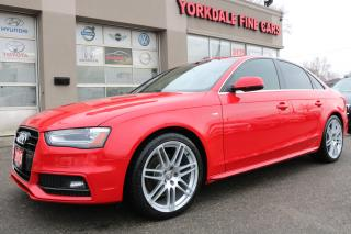 Used 2013 Audi A4 2.0L Quattro S Line. Navigation. Roof. Original for sale in North York, ON