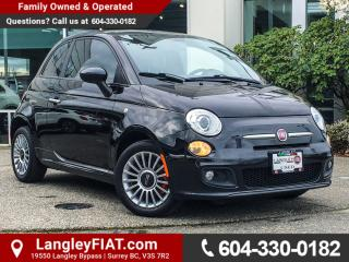 Used 2013 Fiat 500 Sport B.C OWNED! for sale in Surrey, BC